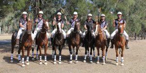 NZ mens polocrosse team